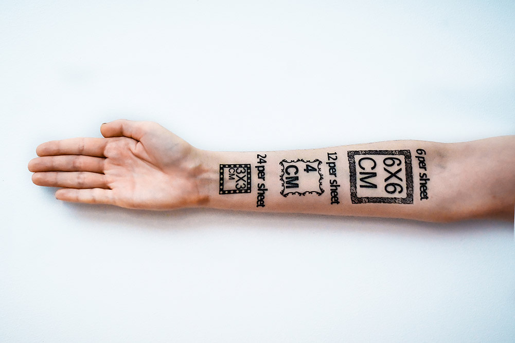 midlertidige tatoveringer eget design