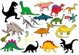 Gnuggistatueringar dinosaurier